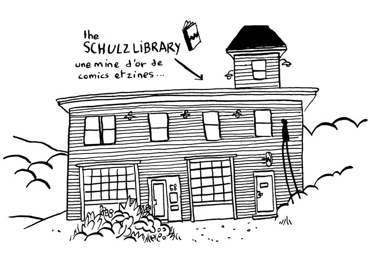 the Schulz Library img1
